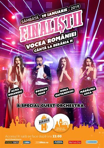 Finaliștii Vocea României 2018 cântă la Berăria H