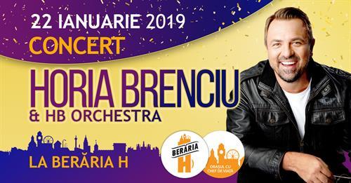 Concert Horia Brenciu & HB Orchestra la Berăria H