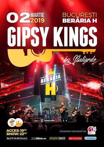 GIPSY KINGS // 2 martie 2019 // Berăria H