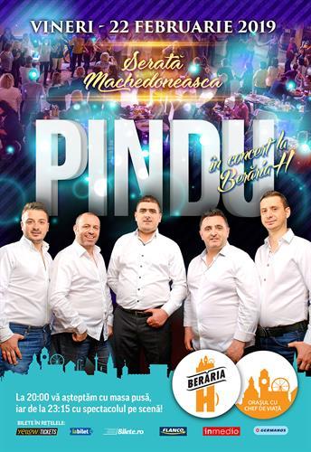 Seara Machedonească: Pindu în concert la Berăria H