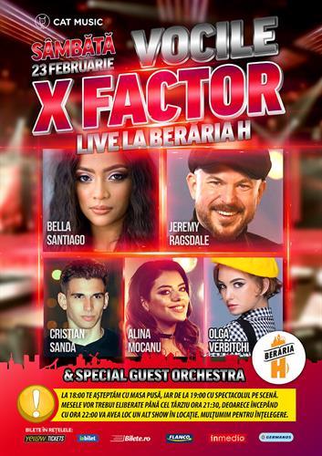 The X Factor Show #live @ Berăria H