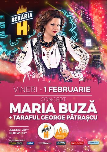 Concert Maria Buză + Taraful George Pătrașcu
