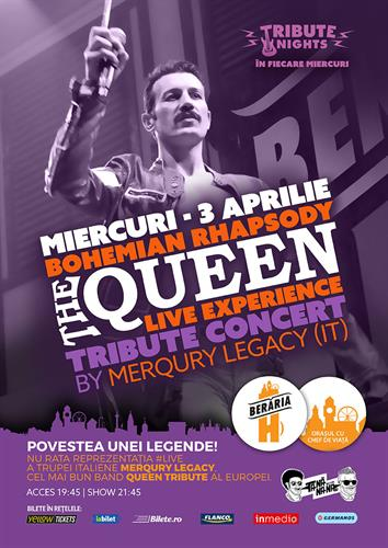 Bohemian Rhapsody > QUEEN Tribute Show by Merqury Legacy [Italy]