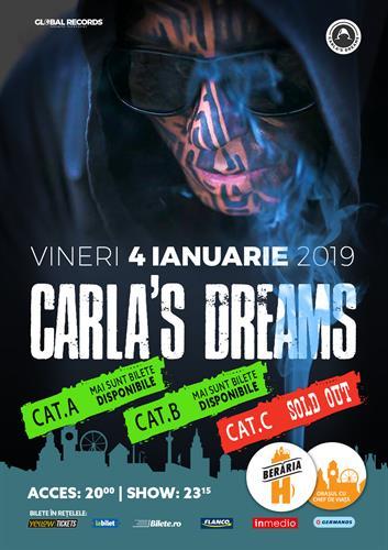 Carla's Dreams // 4 ianuarie 2019 // Berăria H