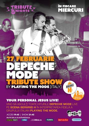 DEPECHE MODE Tribute Show by Mode Inside [Italy]