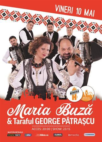 Maria Buză + Taraf George Pătrașcu // 10 mai // Berăria H