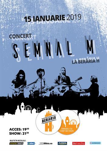 Concert SEMNAL M la Berăria H