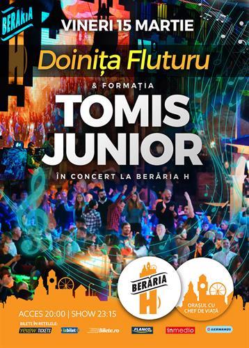 Formația TOMIS JUNIOR și Doinița Fluturu în concert